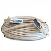 Câble ILDA RS-232 connecteur Sub-D 25 professionnel