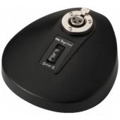 Base de table socle pour microphone col de cygne sur XLR