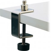 FIXATION DE TABLE POUR MICRO K&M CLAMP NICKEL 237
