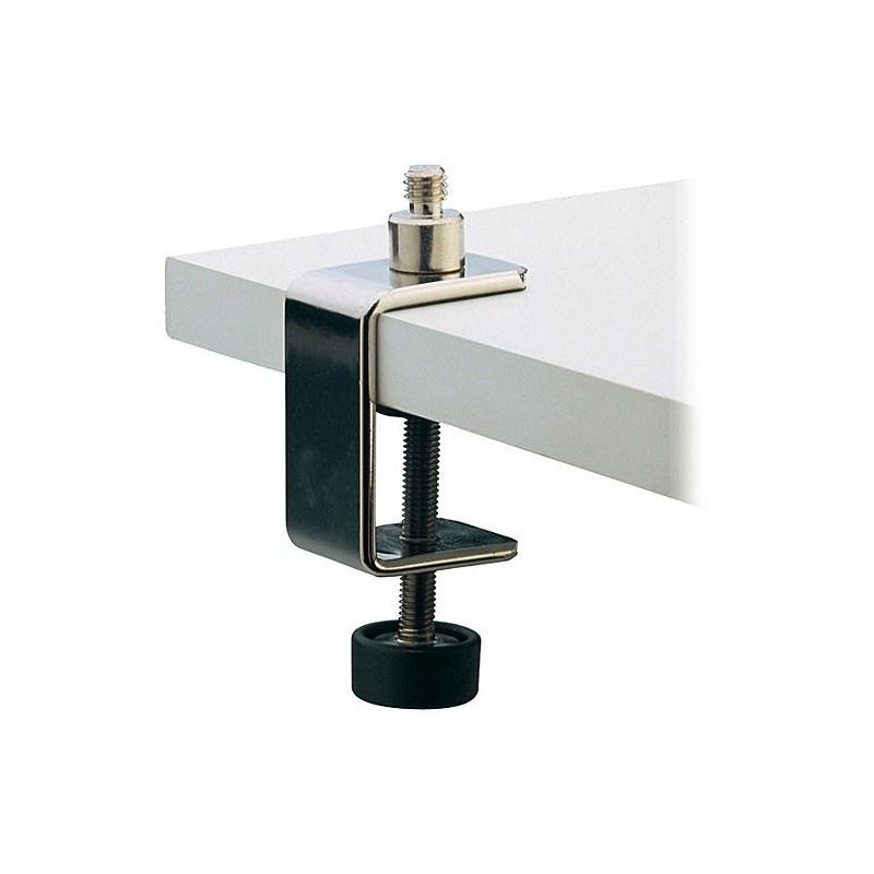 support de micro fixation sur table ou pupitre k m 23700. Black Bedroom Furniture Sets. Home Design Ideas