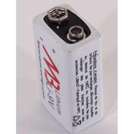 Pile rechargeable NI-MH 300 mAh 8.4Volts M3 nombreuses utilisations