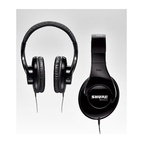 SHURE SRH240A CASQUE HIFI STEREO NOMADE