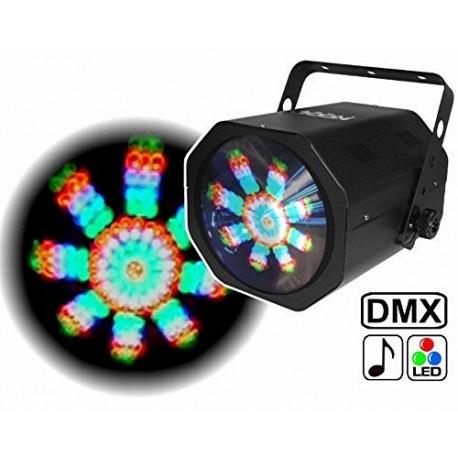 JEU DE LUMIERE à Leds KOOL LIGHT - RASTEL Mode DMX 512 à 7 canaux