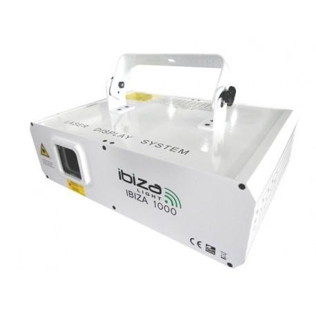 IBIZA- 1000 Blanc LASER MULTI-EFFETS RGB