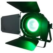 PROJECTEUR PAR DMX A LED COB RGB 90W AVEC VOLETS IBIZA