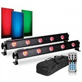PACK LUMIERE BARRE A LED ADJ VBAR PAK