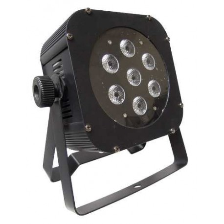PROJECTEUR LED DMX IBIZA LIGHT LP64LED-FLAT8W-RC