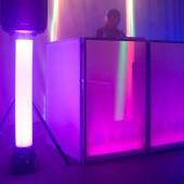 Tube PVC translucide pour décoration ADJ Magna tube