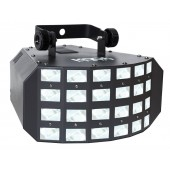 JEUX DE LUMIERE LED DMX 2x 8w RVBW KOOL LIGHT - KRENN