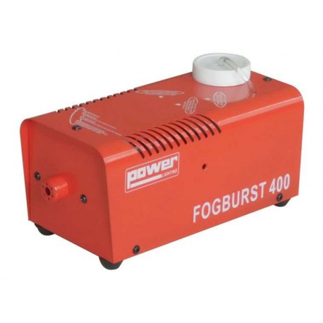 PETITE MACHINE A FUMÉE POWER LIGHTING FOG BURST 400 ROUGE