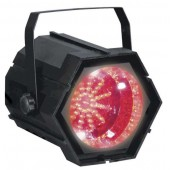 CHANGEUR DE COULEURS STROBOSCOPE A LEDS ROUGES CHEETAH GO17KQ