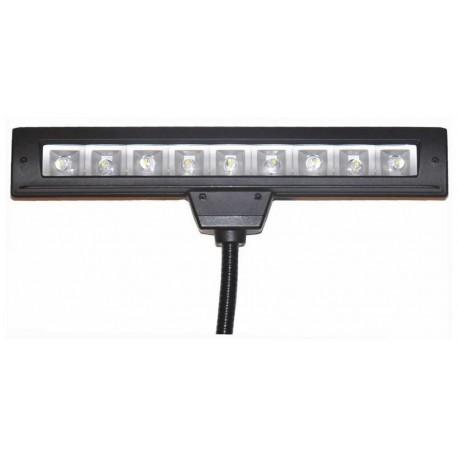 ECLAIRAGE de PUPITRE POWER LIGHTING LED MUSIC LIGHT LM 100