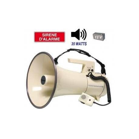 PORTE-VOIX MEGAPHONE PUISSANT AVEC SIRENE SEKAKU SHOW ER-67-SERIES