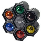RAMPE DE 6 SPOTS DE COULEUR AVEC MODULATEUR TECHNILIGHT - SPOT 6