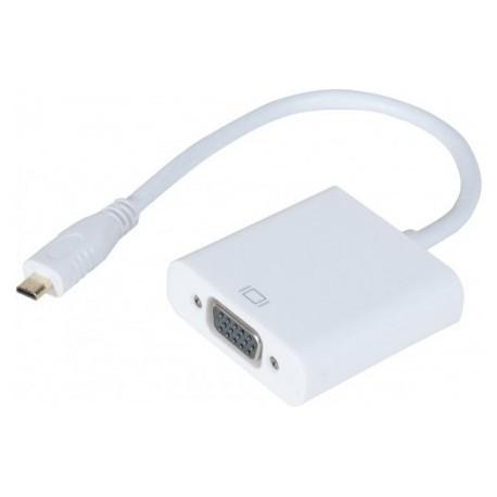 Convertisseur Micro HDMI vers VGA pour tablette et appareil photo numérique CE FC - CUC 127851