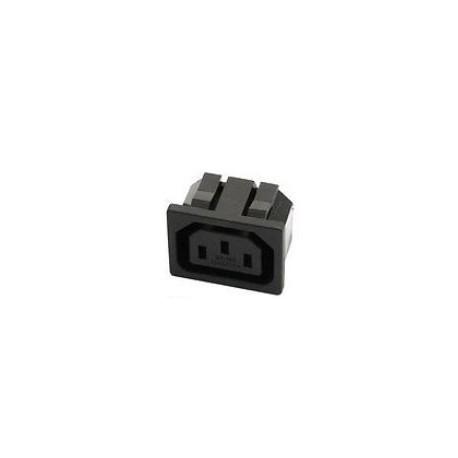 Prise secteur EURO IEC C13 clipsable chassis femelle ALTAI SC 11