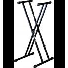 Support pied en X pour clavier QUIK LOK - QLX 21