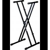 Support pied en X pour clavier QUIK LOK - QLX 21 expo