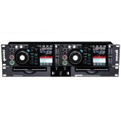 PLATINE CD DOUBLE MULTIMEDIA GEMINI - CDMP 2700