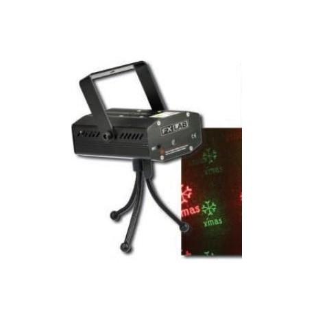 Laser vert & rouge flocons de neige FX LAB - G018BD