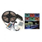 FLEXIBLE LUMINEUX A LED RGB de 5M LTC LLAS500RGB-SET