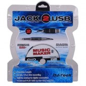 INTERFACE CONVERTISSEUR DJ-TECH - JACK 2 USB