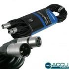 CORDON MICRO ACU - CABLE XLR/XLR 15M