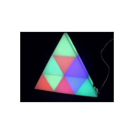 Triangle Décor LED RVB 385mm - Skytec 158.506