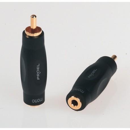 ADAPTATEUR RCA MALE MONO / MINI JACK 3.5mm FEMELLE MONO PROEL DHMA 220