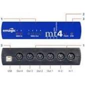 INTERFACE MIDI EMAGIC MT4