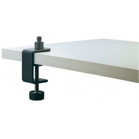 FIXATION DE TABLE POUR MICRO K&M 237 CLAMP NOIR