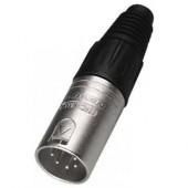 Fiches XLR Mâle 5 pôles NC-5MX Neutrik DMX & Audio