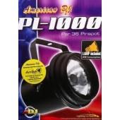 PROJECTEUR POUR BOULE A FACETTES PAR 36 ADJ - PL-1000 AVEC LAMPE