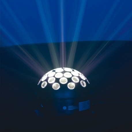 BOULE LUMINEUSE LED RVB + Blanc KOOL LIGHT - HEOL