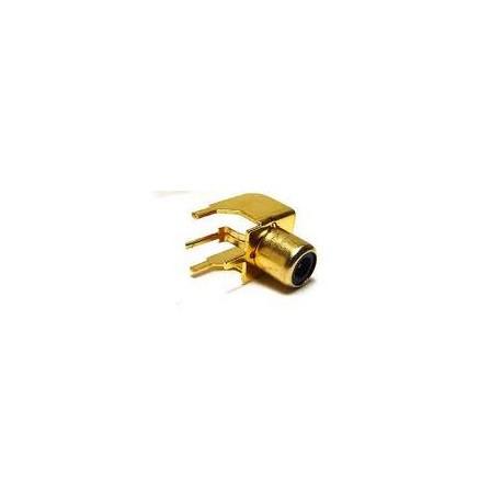 Fiche RCA circuit imprimé Femelle OR Monacor T-709G