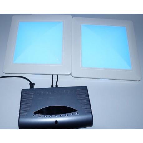Dalle LED RVBW déco stylée contenant 48 LEDs Eurolite C-Panel