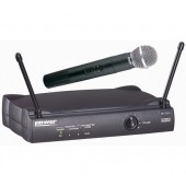 Micro Sans Fil VHF Micro Main et Récepteur en Valise