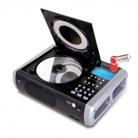 LECTEUR DE CD ET CLÉ USB - ENCODEUR MP3 DJ-TECH - CD ENCODER 10