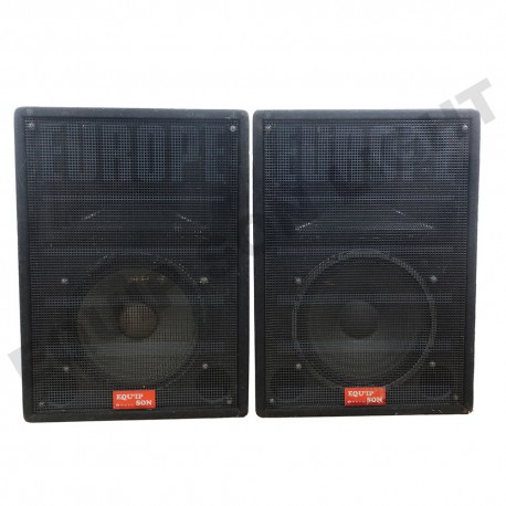 SOUND SYSTEM EUROPE 1600 WATTS REVIVAL FBT E.1600
