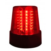 GYROPHARE A LED ROUGE - IBIZA - GYRO LED ROUGE
