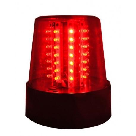 GYROPHARE A LED ROUGE - IBIZA - GYRO LED ROUGE