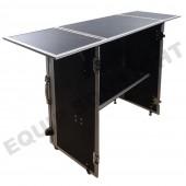 Table pliante pour DJ en Flight case