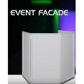 Lycra pour Façade DJ 4 Panneaux pliables et transportables