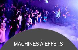 Machines à effets professionnelles