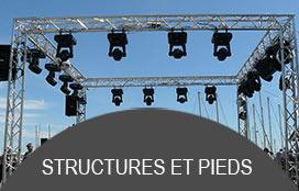 structures et pieds sonorisation professionnelles